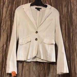 Ivory blazer